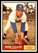 1961 Topps #38 Bob Lillis NM Near Mint