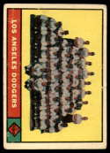 1961 Topps #86 Dodgers Team VG Very Good