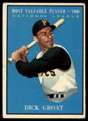 1961 Topps #486 Dick Groat EX Excellent