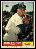 1961 Topps #492 Ron Fairly EX Excellent marks