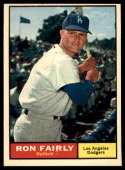 1961 Topps #492 Ron Fairly EX Excellent