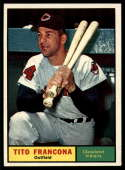 1961 Topps #503 Tito Francona NM Near Mint
