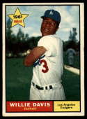 1961 Topps #506 Willie Davis EX Excellent RC Rookie