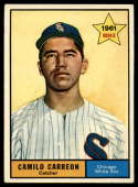 1961 Topps #509 Camilo Carreon EX Excellent