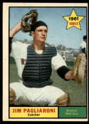 1961 Topps #519 Jim Pagliaroni EX Excellent RC Rookie
