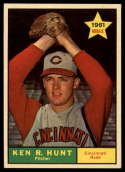 1961 Topps #556 Ken R. Hunt EX/NM RC Rookie