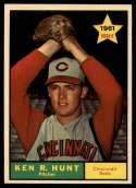 1961 Topps #556 Ken R. Hunt NM Near Mint RC Rookie
