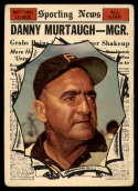1961 Topps #567 Danny Murtaugh AS MG P Poor
