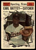 1961 Topps #582 Earl Battey AS VG Very Good
