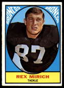 1967 Topps #32 Rex Mirich EX Excellent RC Rookie