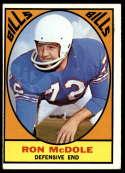 1967 Topps #25 Ron McDole EX Excellent