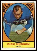 1967 Topps #22 Dick Hudson EX/NM