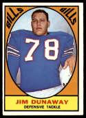 1967 Topps #21 Jim Dunaway EX++ Excellent++