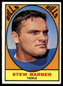 1967 Topps #18 Stew Barber EX/NM