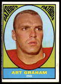 1967 Topps #12 Art Graham EX Excellent