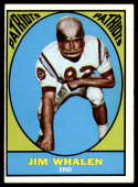 1967 Topps #11 Jim Whalen EX Excellent