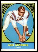 1967 Topps #6 Jon Morris EX Excellent