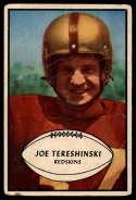 1953 Bowman #5 Joe Tereshinski G/VG Good/Very Good