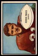1953 Bowman #16 Eddie Price EX Excellent