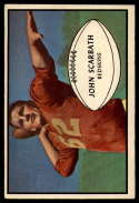 1953 Bowman #50 Jack Scarbath VG Very Good