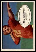 1953 Bowman #50 Jack Scarbath EX/NM