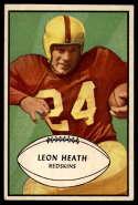 1953 Bowman #63 Leon Heath EX Excellent