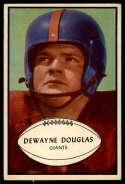1953 Bowman #65 Dewayne Douglas EX Excellent