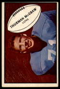 1953 Bowman #71 Thurman McGraw VG/EX Very Good/Excellent