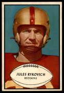 1953 Bowman #74 Julie Rykovich NM Near Mint