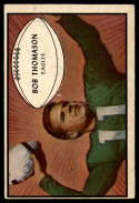 1953 Bowman #83 Bobby Thomason VG Very Good RC Rookie