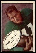 1953 Bowman #89 Frank Ziegler EX Excellent