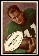 1953 Bowman #89 Frank Ziegler EX/NM