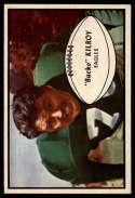 1953 Bowman #4 Bucko Kilroy EX/NM