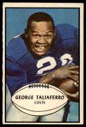 1953 Bowman #19 George Taliaferro EX++ Excellent++