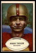 1953 Bowman #84 Hugh Taylor EX Excellent