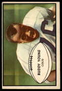 1953 Bowman #30 Buddy Young VG Very Good