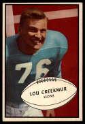 1953 Bowman #34 Lou Creekmur EX++ Excellent++