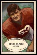 1953 Bowman #57 John Rapacz EX Excellent SP