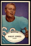1953 Bowman #58 Harley Sewell EX/NM SP