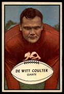 1953 Bowman #64 Tex Coulter EX/NM SP