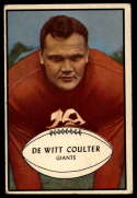 1953 Bowman #64 Tex Coulter VG/EX Very Good/Excellent SP