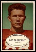 1953 Bowman #67 Bob McChesney EX++ Excellent++ SP