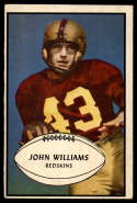 1953 Bowman #87 John Williams VG/EX Very Good/Excellent RC Rookie SP
