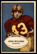 1953 Bowman #87 John Williams EX Excellent RC Rookie SP