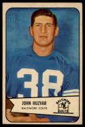 1954 Bowman #2 John Huzvar EX/NM