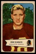 1954 Bowman #3 Jack Scarbath VG/EX Very Good/Excellent