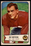 1954 Bowman #31 Ray Wietecha EX Excellent RC Rookie
