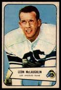 1954 Bowman #56 Leon McLaughlin VG/EX Very Good/Excellent