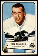 1954 Bowman #56 Leon McLaughlin EX/NM