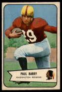 1954 Bowman #98 Paul Barry EX Excellent